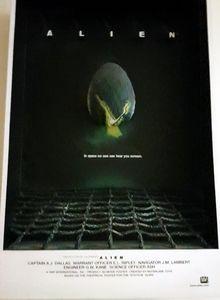 *COLLECTORS ITEM* Alien 3D movie poster